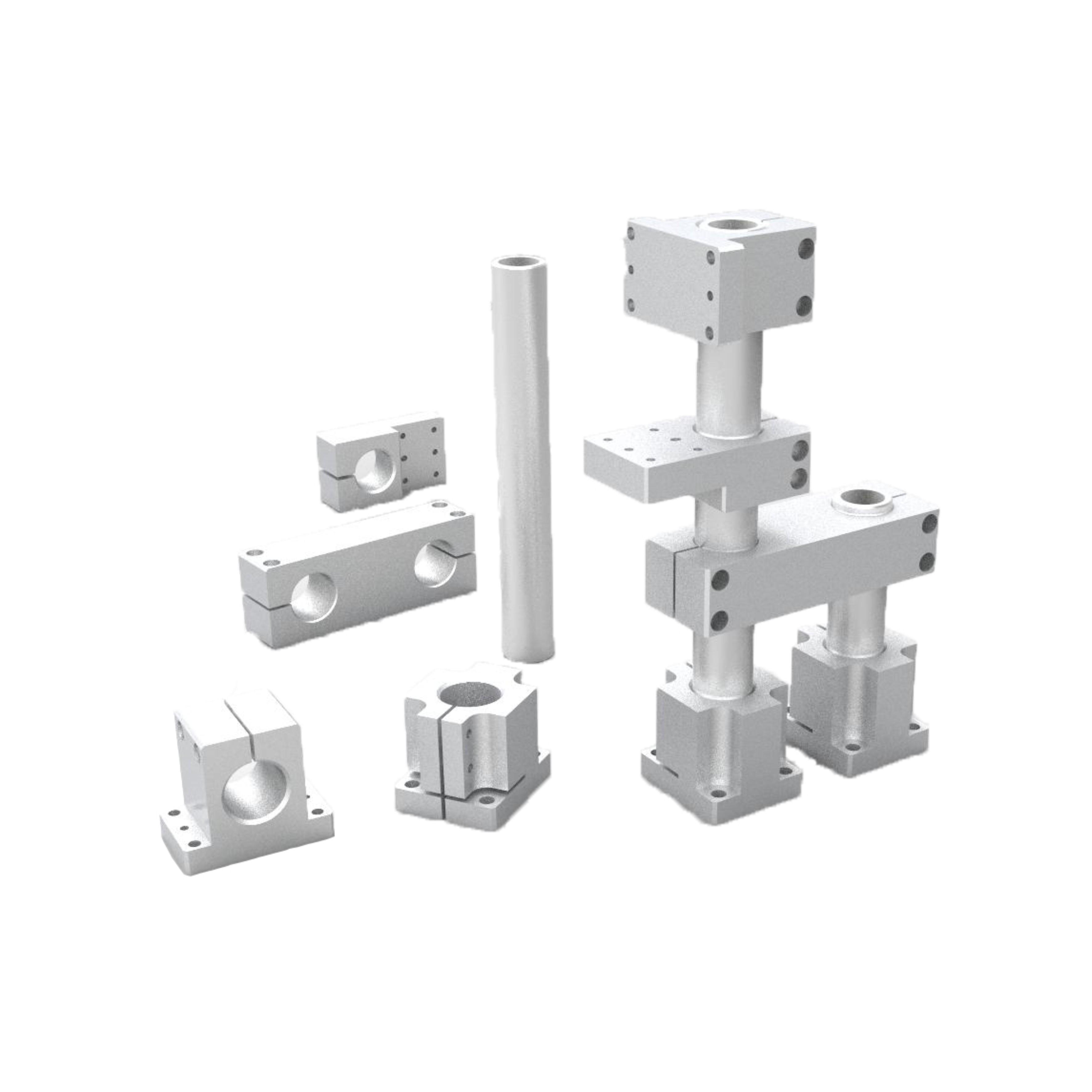 ZCD01-16机构安装组件 底座/立柱/锁块/加强块/平行锁块