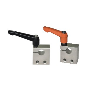 LKM01-0230度梯形丝杠防转动固定件 双螺栓型 横向紧固型/径向紧固型