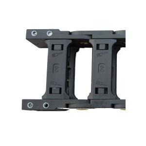 VEQ01加强型35系列 内外径开口拖链用接头 方型