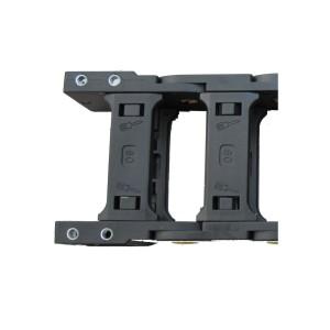 VER01加强型45系列 内外径开口拖链用接头 方型