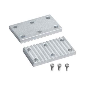 ECY51同步带用金属件 下部金属件短型(单件)