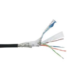 "ZIE72运动型工业LAN线 超六类 双层屏蔽  本产品的订购单位为卷(每卷产品的长度为""100""米)"