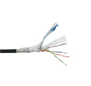 "ZIE86固定型工业LAN线 超六类 双层屏蔽  本产品的订购单位为卷(每卷产品的长度为""100""米)"