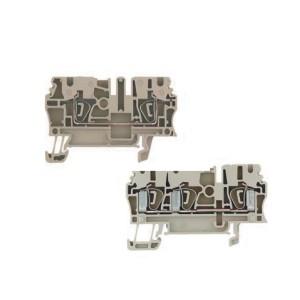 ZID31欧式端子台 弹片式通用端子台 导轨式单层型