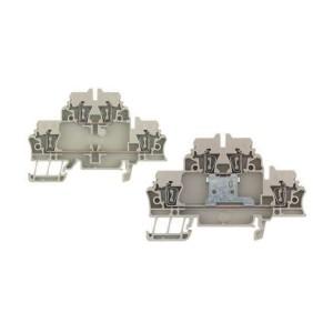 ZID39-40欧式端子台 弹片式通用端子台 导轨式双层型