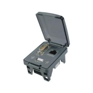 ZIM04通用电源插座 防护型通信接口面板盒