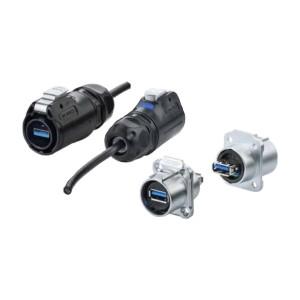 ZKY53USB转接器 防水型 按扣式 U3.0
