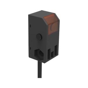经济型光电传感器 小方型 对射式 LED红外光 有效检测距离1500mm