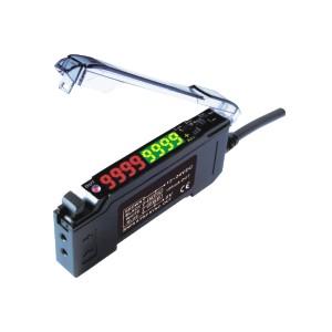 ZJH46光纤传感器用配件 光纤放大器 双数显双输出