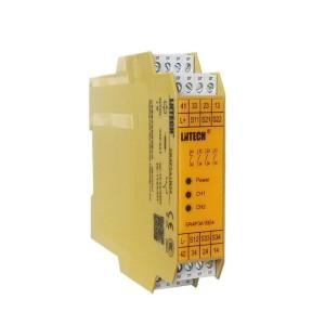ZJH75安全继电器 安全光幕用 PNP 输出触点3NO 1NC 电压24VDC/AC