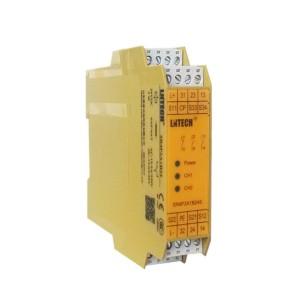 ZJH78安全继电器 双手按钮用 输出触点2NO 1NC 电压24VDC/AC