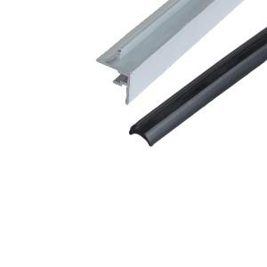 40系列槽宽8.3 后装面板座/后装面板压条