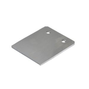 专用配件 机械防护栏30/40系列 滑道型材端部扣盖