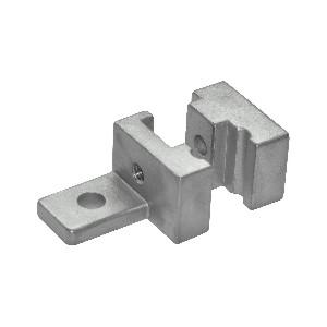 JX-AVK31-3030W专用配件 机械防护栏30/40系列 铁丝网固定块
