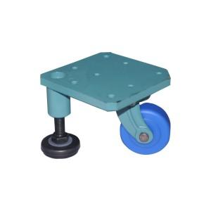 CGP56-57带调整块脚轮 平底活动型 方型 中重型(150~360KG)