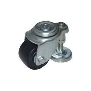 CLU01带调整块脚轮 孔顶活动型 中重载(150~200KG)